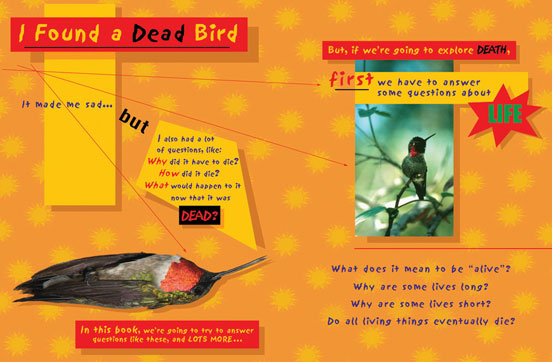 Opening spread -Dead Bird